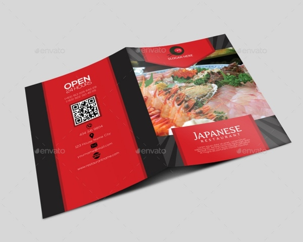 Japanese Restaurant Brochure