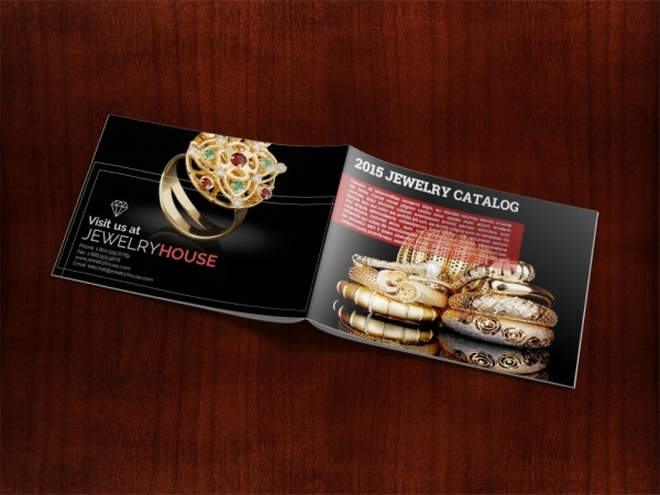 Jewelry Catalog Presentation Advertising