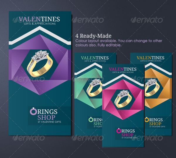 Jewelry Store Advertising Brochure