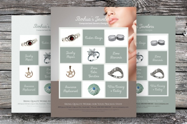 Jewelry Store Flyer Advertisement