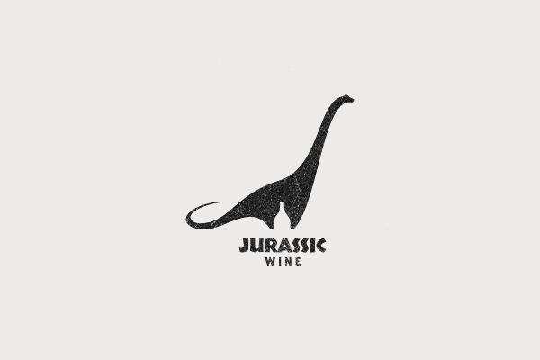 Jurassic Wine Logo