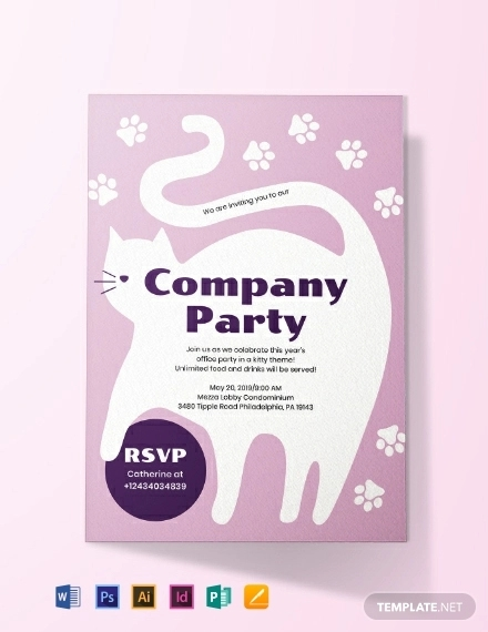 kitty party invitation