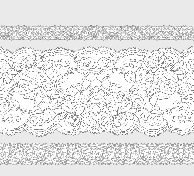 Lace Pattern Brush For Free