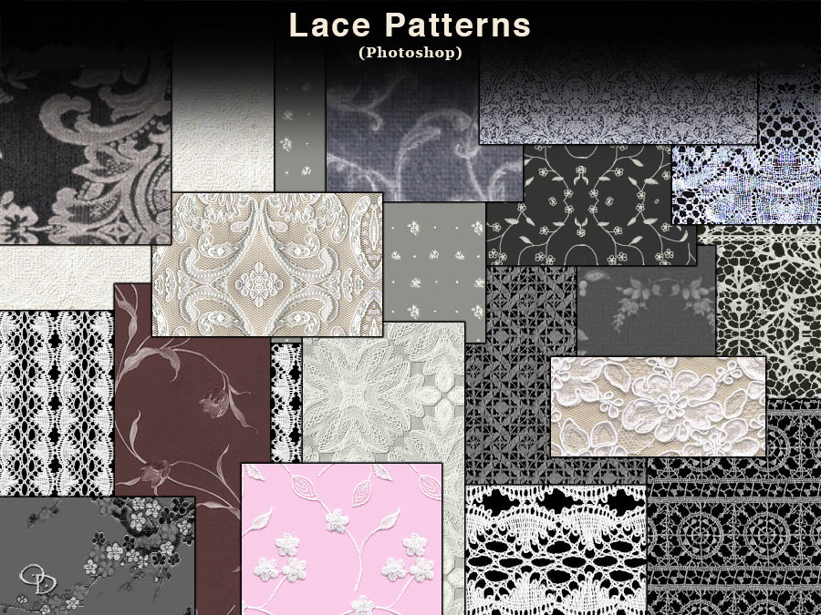 Lace Photoshop Pattern