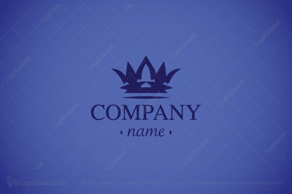 Law Firm Crown Logo
