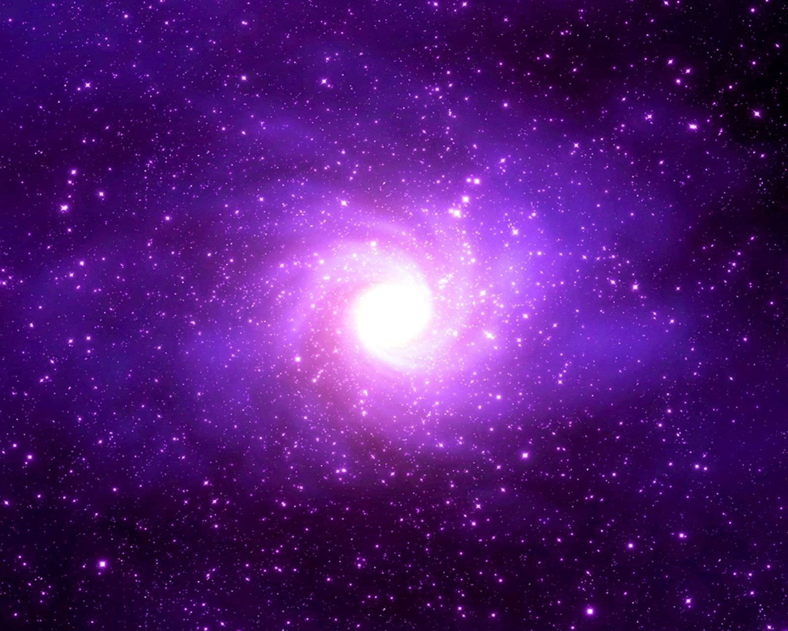 Light purple Galaxy Wallpaper