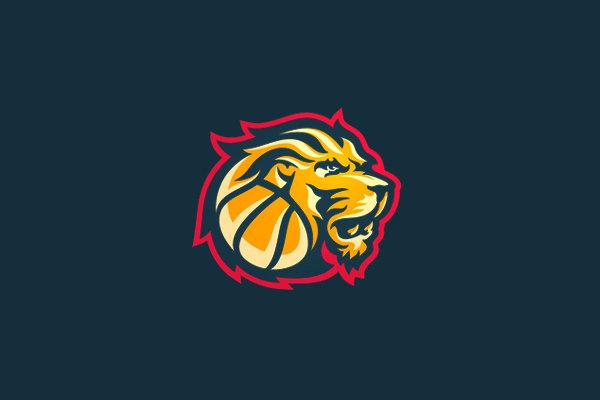 Lions Basketball Sport Logo