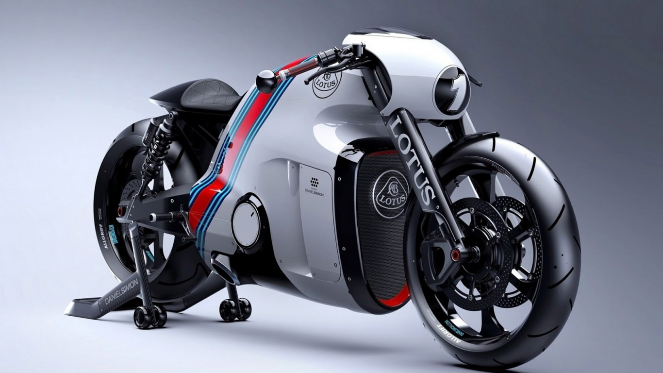Lotus Motorcycle Wallpaper