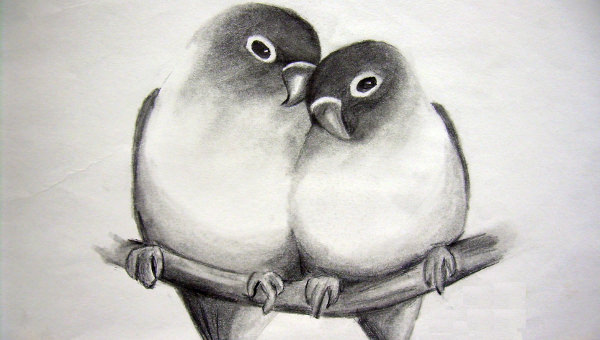 27 splendid love drawings