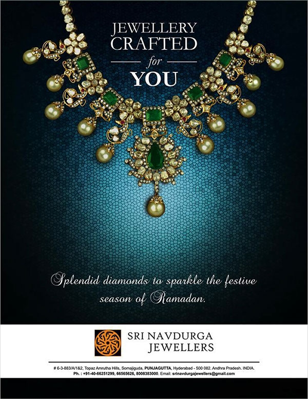 Poster Design For Jewellery