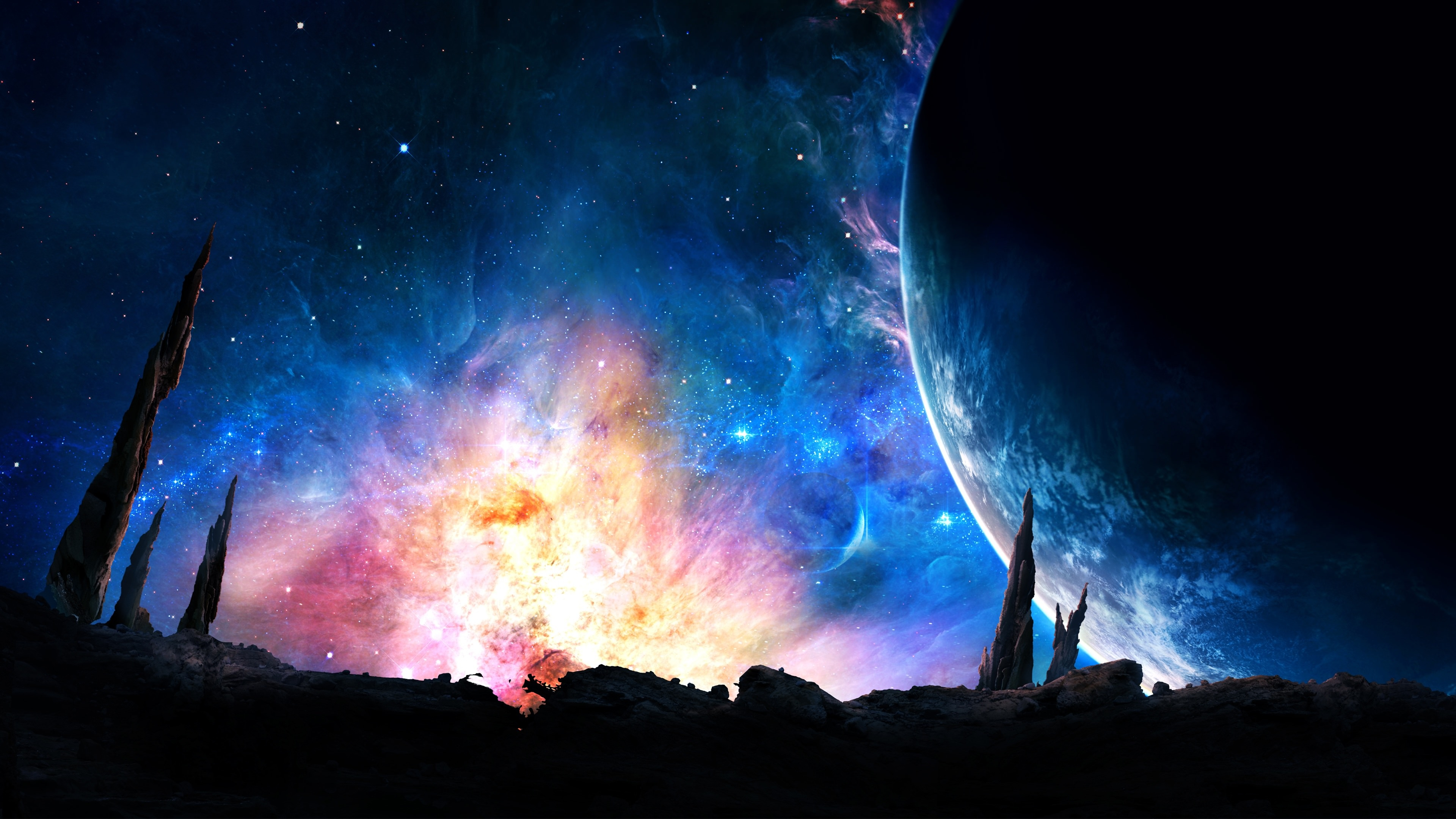 Magnificent Galaxy Background