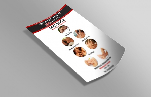 Malasian Professional Massage Flyer