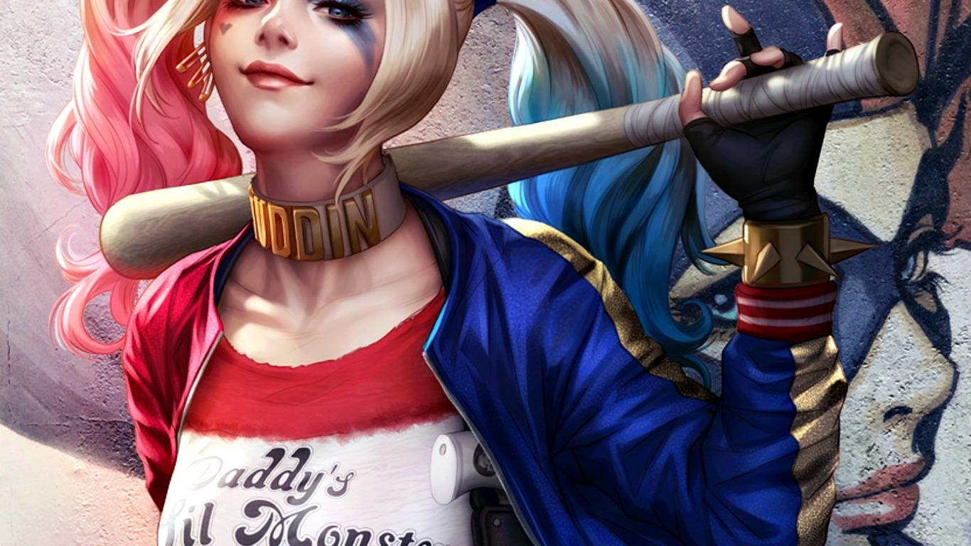 Marvellous Harley Quinn Wallpaper