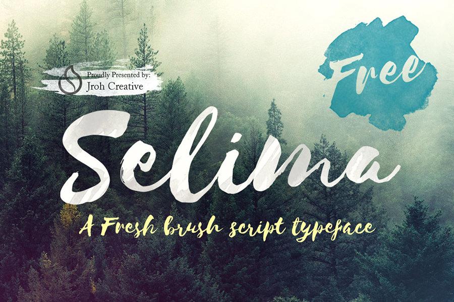 Marvellous Selima Font