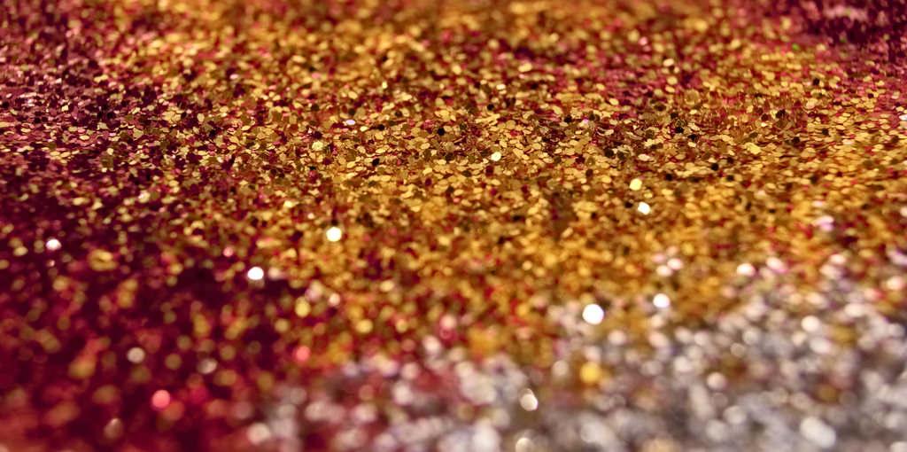 Metallic Gradient Glitter Texture