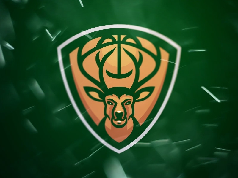 Milwaukee Bucks Sports Logo