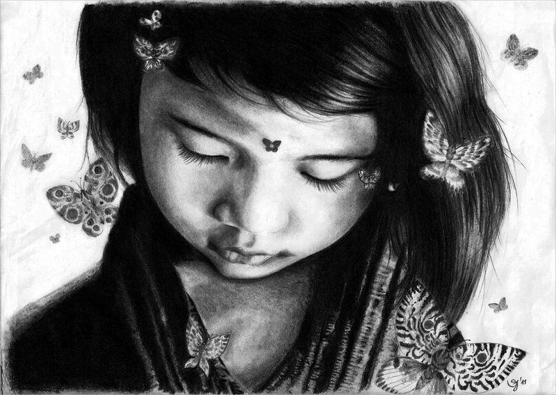 Mind Blowing Butterfly Drawing