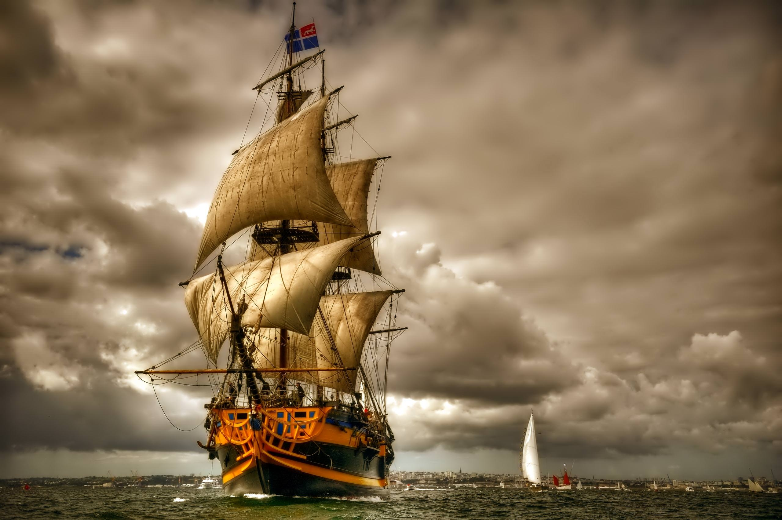 Sailboats Wallpaper For Download