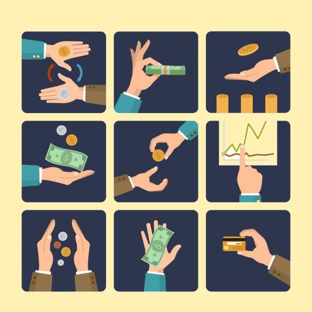 Money Exchange Icons
