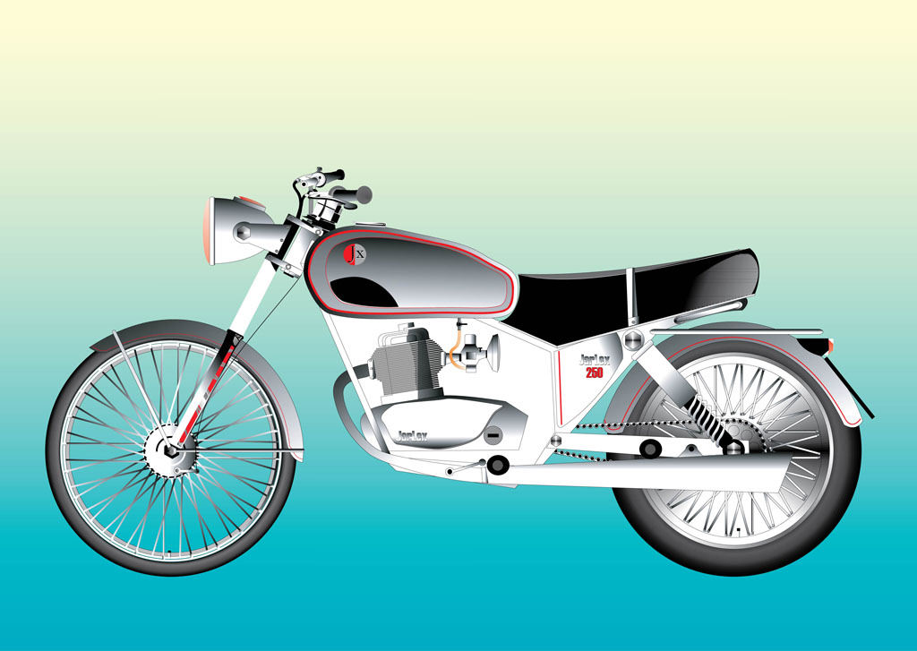 Motorcycle Vector Graphics For Free