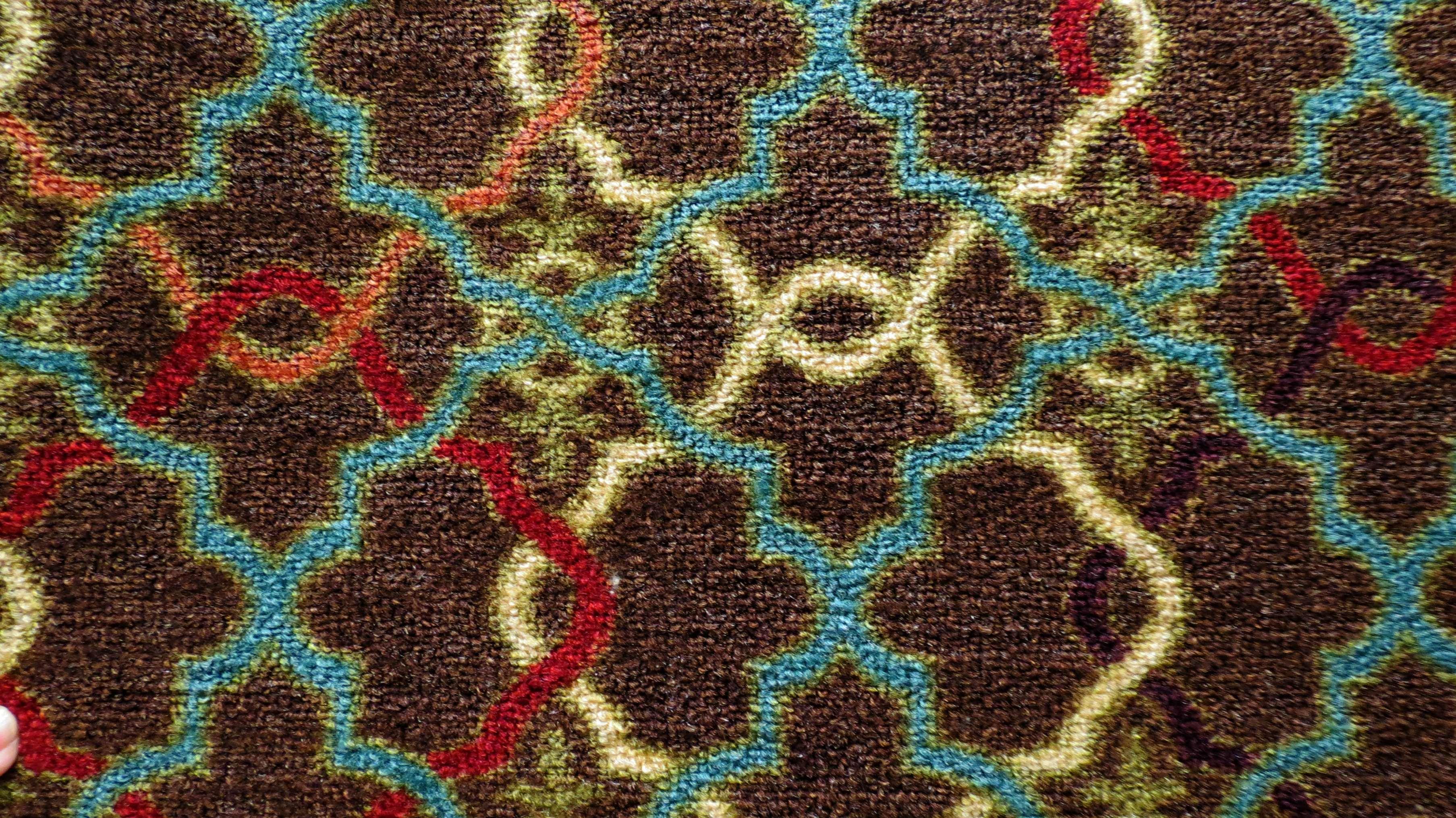 Multicolor Rug Texture