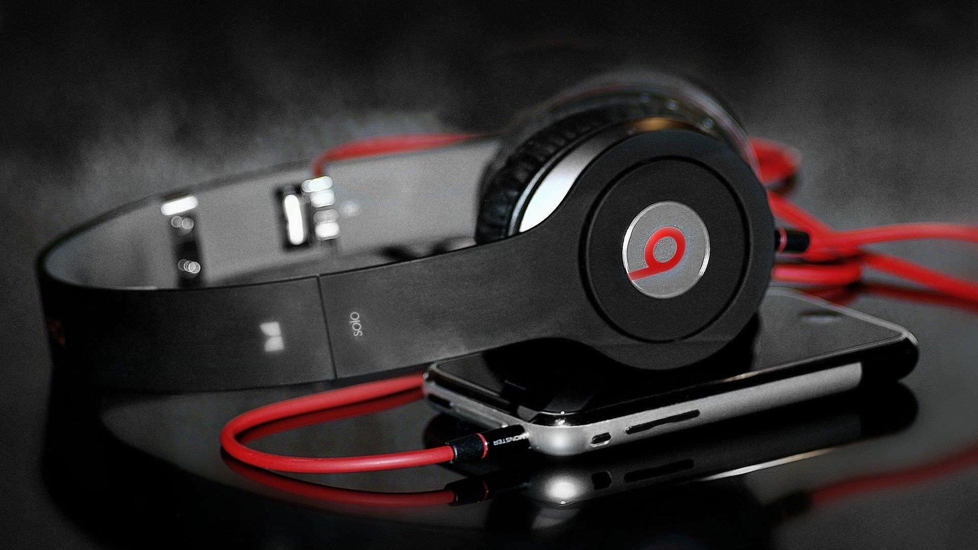 Music Wallpaper with Headphones