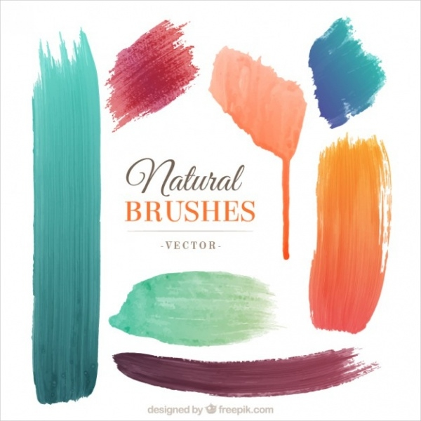 Natural Shape Brushes