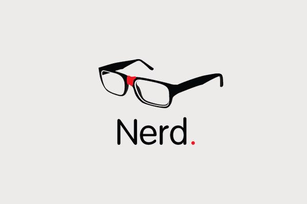 Nerd Hipster Logo Design
