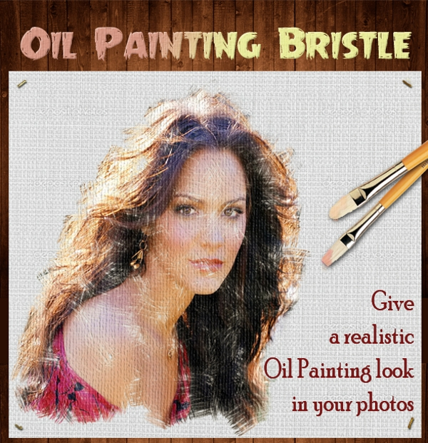 Oil Painting Bristle Scatter PS Brushes