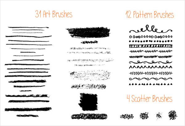 Oil Pastel Brushes