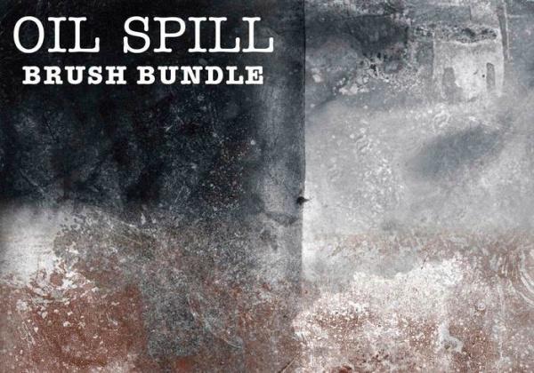 Oil Spill Brush Bundle