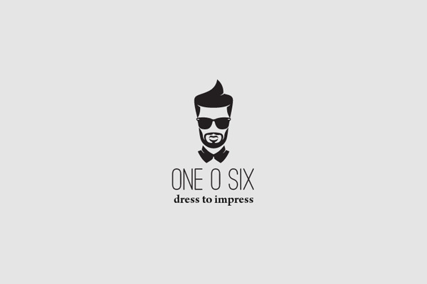 One O Six Hipster Logo
