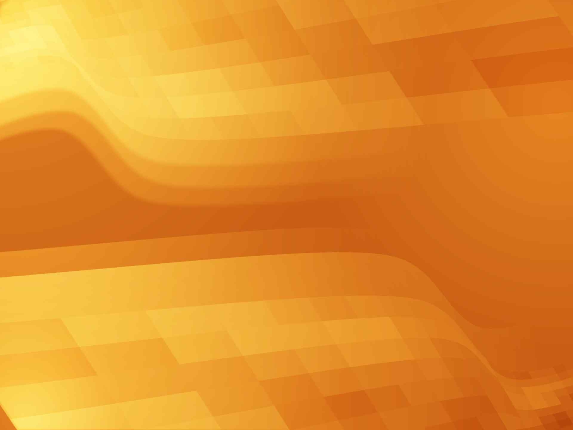 Orange Pixels Wave Background For Free