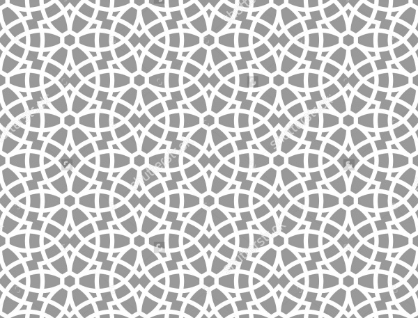 Ornamental Arabic Seamless Pattern