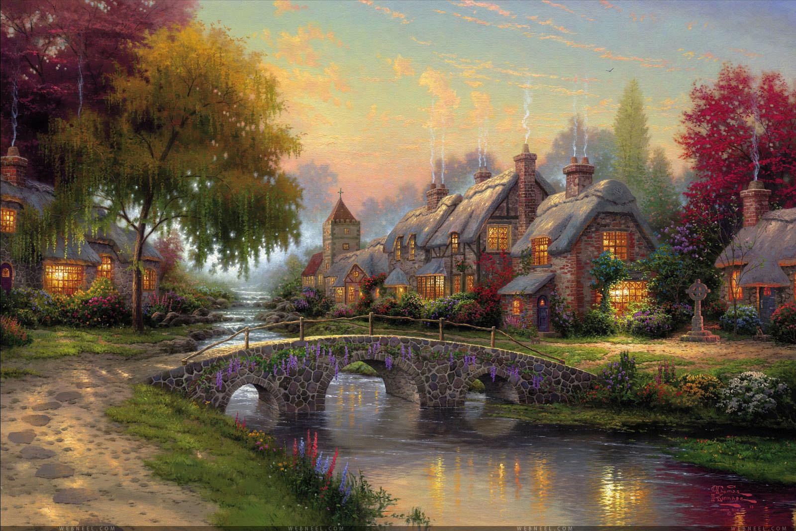 Painting Widescreen Wallpaper