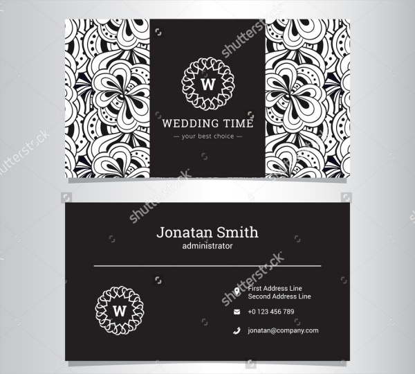 Personal Wedding Card Design