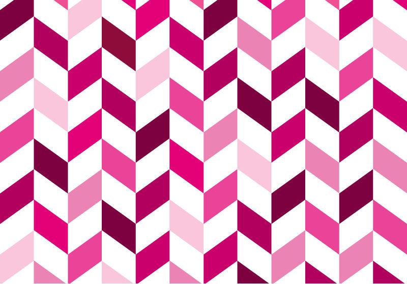 Pink Chevron Background