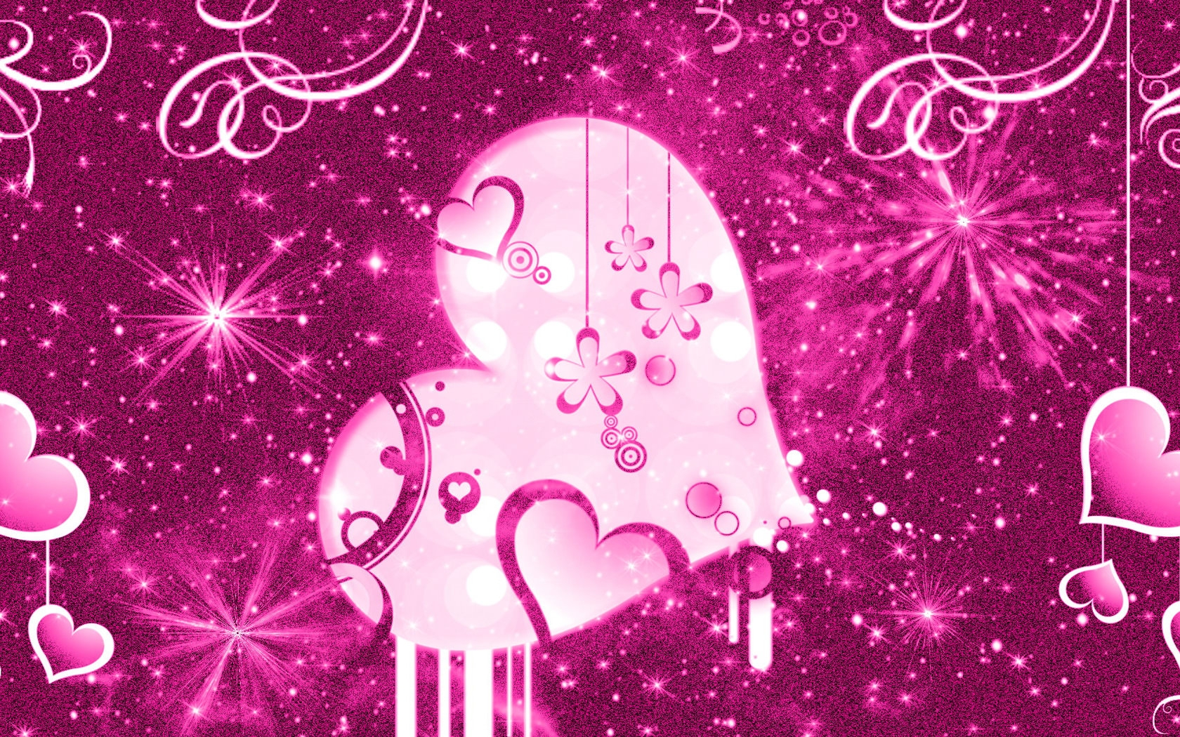 Pink Cute Girly Wallpaper