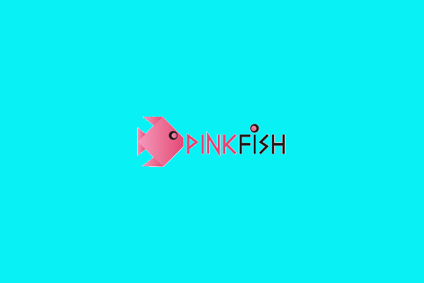 Pink Fish Logo For Free
