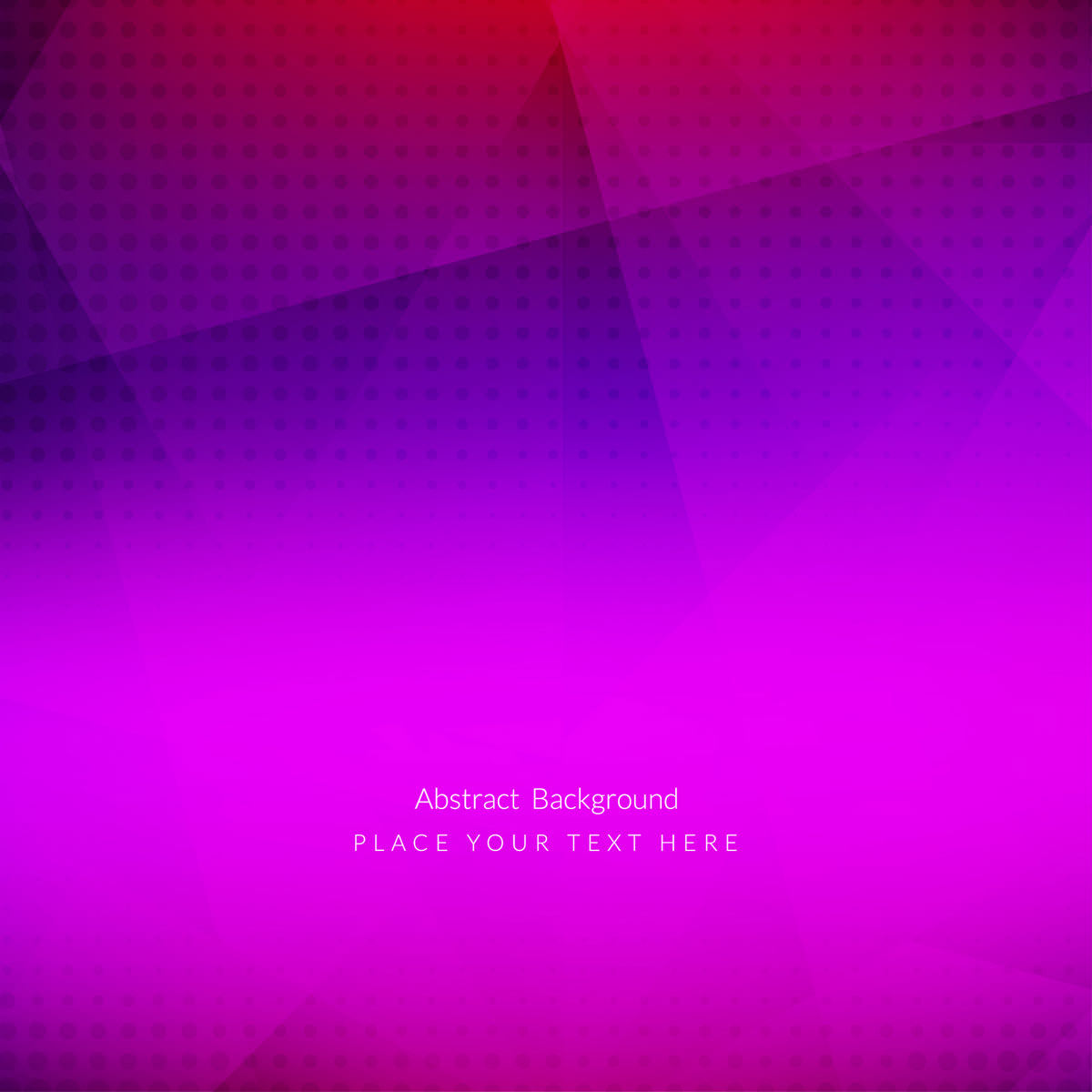 pink polygon background
