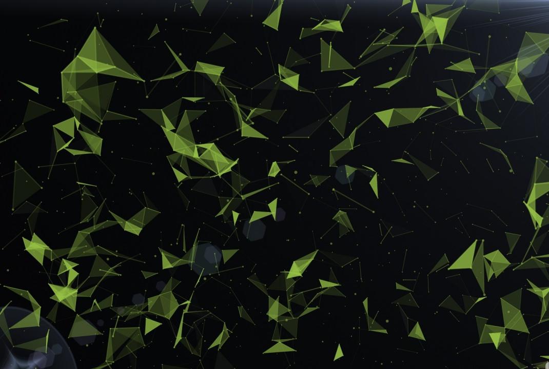Plexus galaxy Abstract Background