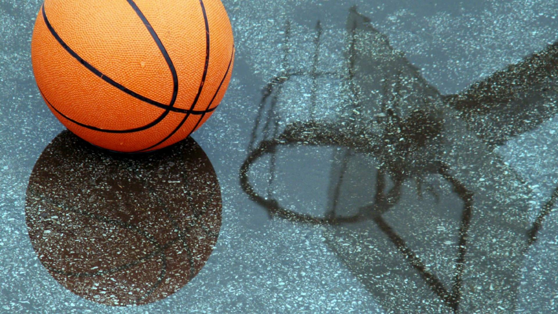 Pool Reflection Basketball Wallpaper