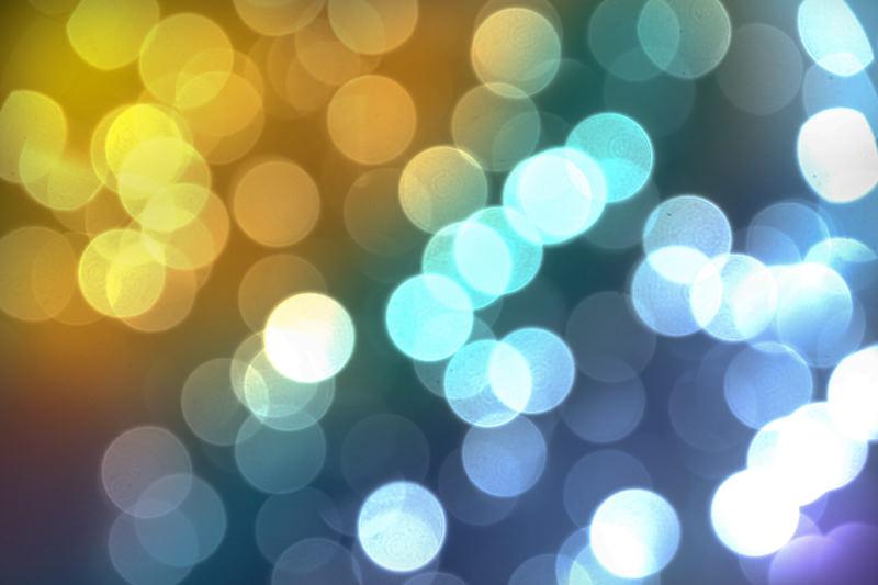 Pretty Light Bokeh Texture