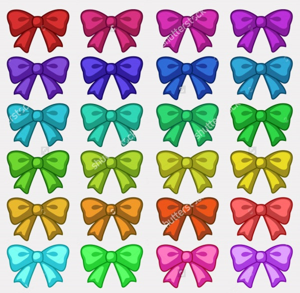 Printable Rainbow Ribbon Clip-art