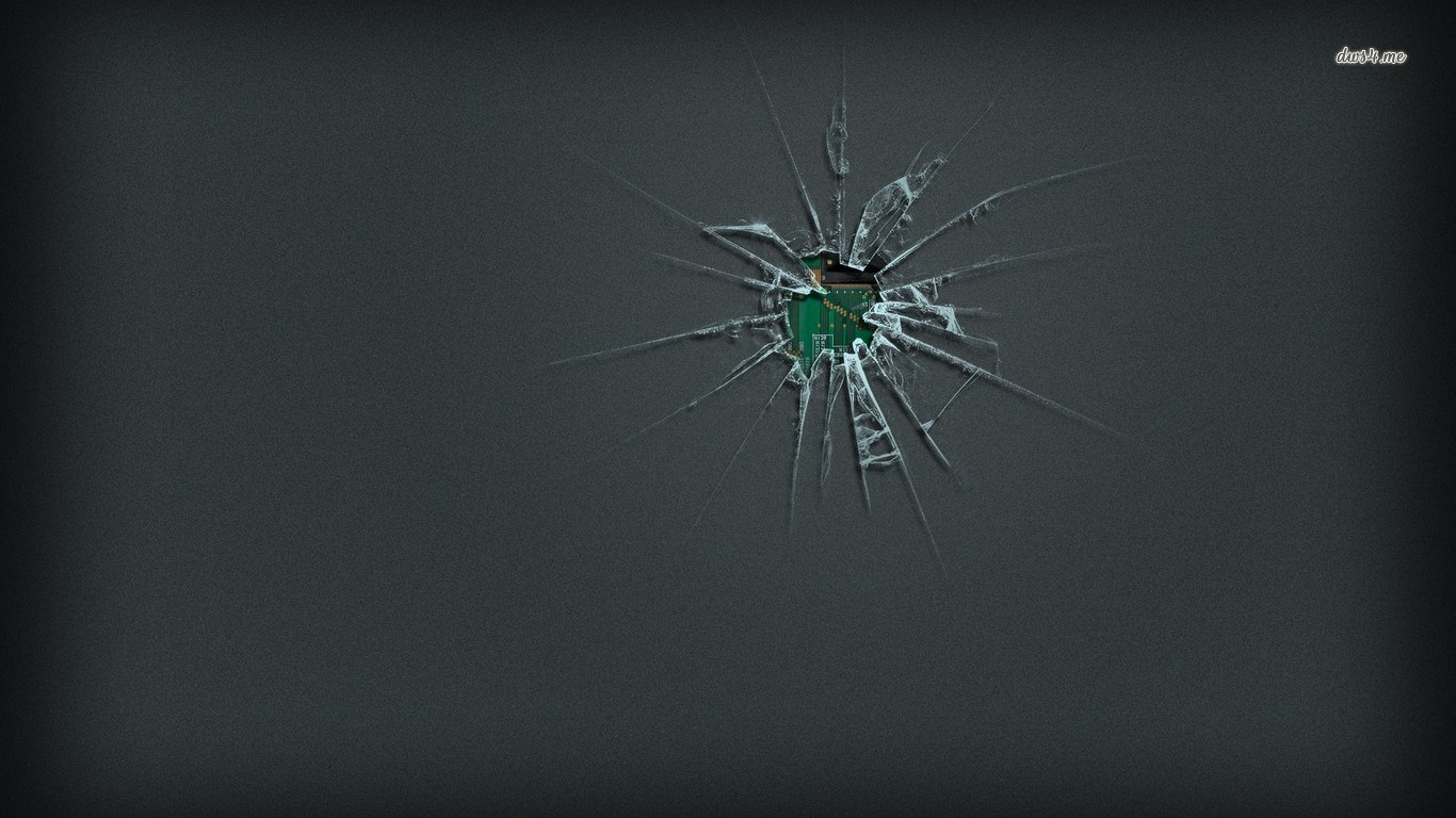 Processor Broken Screen Wallpaper