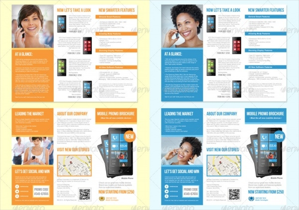 Product Promotion Trifold Brochure