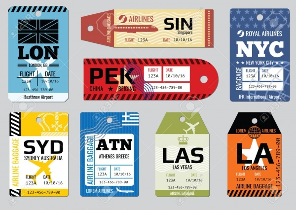 Promotional Vintage Luggage Tags