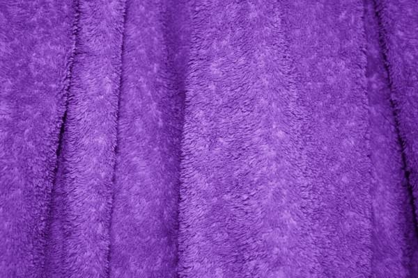 Purple Terry Cloth Bath Towel Texture Background