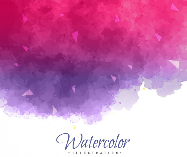 Purple and Pink Watercolor Background