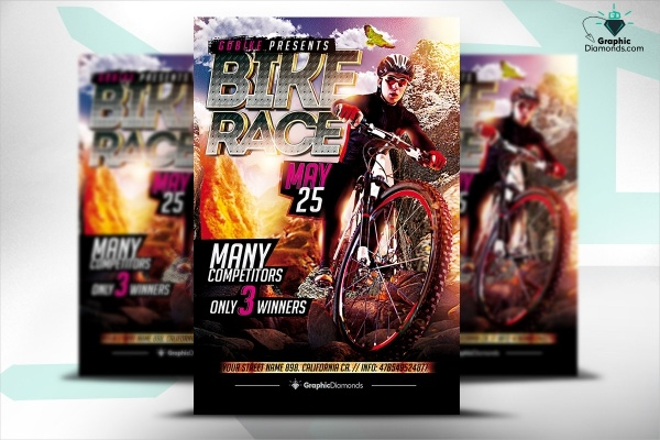 Racing PSD Flyer Design